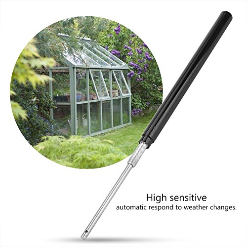 Delaman Solar Sensitive Automatic Window Vent Opener for Greenhouse, Cylinder, Temperature Sensor by Delaman (Image #3)