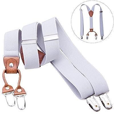 Kids Suspenders Adjustable Elastic Braces - Y Shape Suspender for Baby & Adult