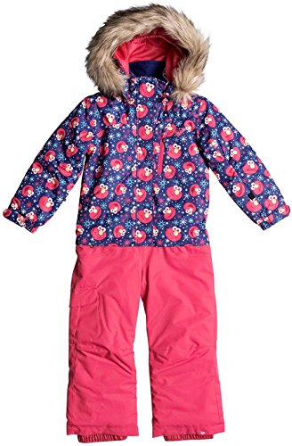 Roxy Little Girls Paradise Jumpsuit, Elmo, 6/7 by Roxy