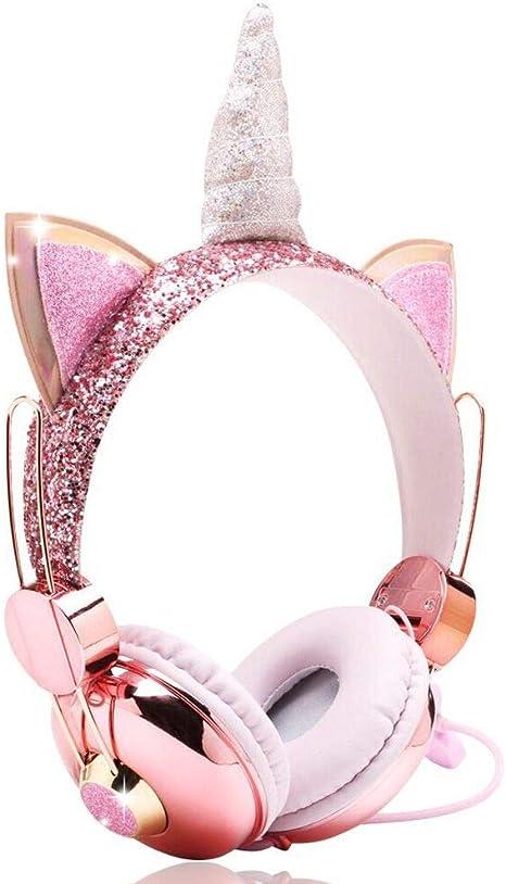 Einhorn Kopfhörer Für Mädchen Kinder Funkelndes Elektronik
