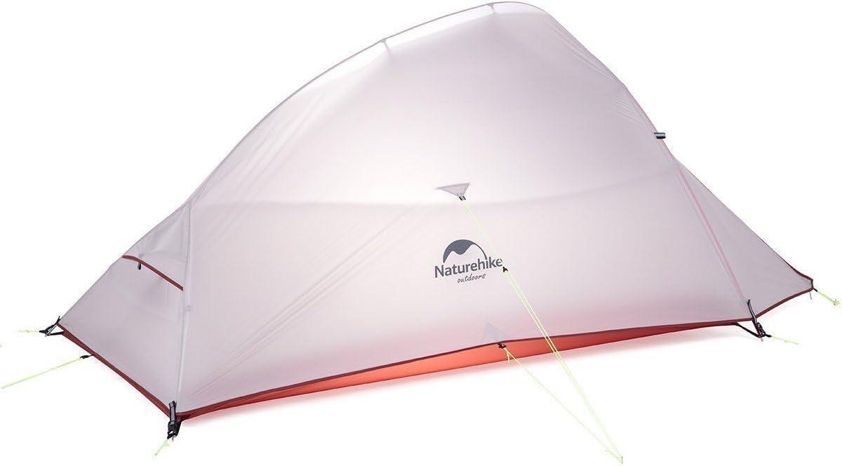 NATUREHIKE Cloud Up 2 PU Ultralight Updated 2 Personnes Tente Orange