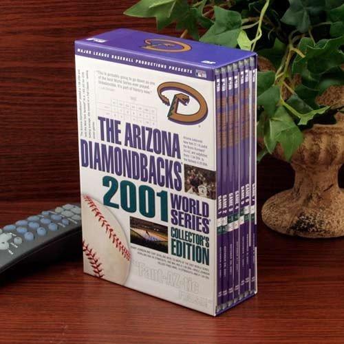 Arizona Diamondbacks 2001 World Series Collector's Edition 7-Disc DVD Set ()