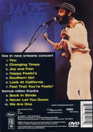 Frankie Beverly - Live in New Orleans by The Right Stuff (Image #1)