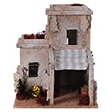 Holyart Nativity setting, Arabian house with fruit shop