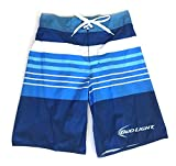Bud Light Surfer Rugby Board Shorts (XXL)