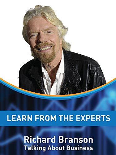 Learn From The Experts - Richard Branson on Amazon Prime Video UK