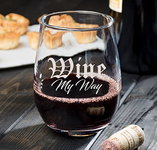 Personalized Stemless Wine Glass ()