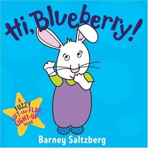 Hi, Blueberry! (Fuzzy Lift-The-Flap, Light-Up Books)