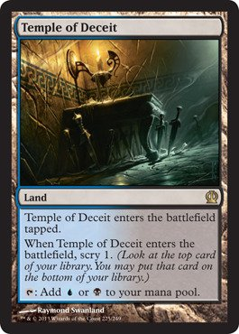 - Magic: the Gathering - Temple of Deceit (225/249) - Theros