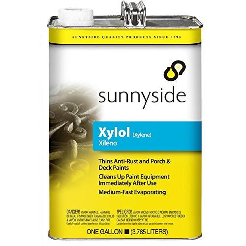 Sunnyside Xylol / Xylene Thinner, Gallon, 4-Pack, 822G1S