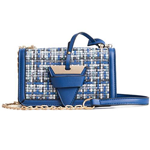 Kervinfendriyun Mujeres Pequeño Blue Para Muchacha Bolsos Celular Los Bolsa Blue color Asas Crossbody Del Teléfono Yy4 Bolso De La Las XHExHrwq