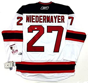 Scott Niedermayer Autographed Jersey - Authenticated E52061 - JSA Certified