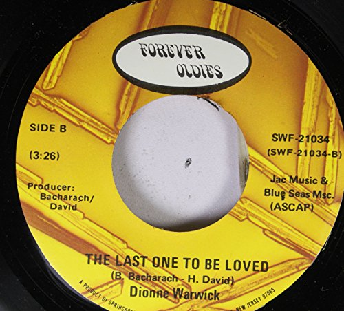 Dionne Warwick 45 RPM The Last One To Be Loved / People (Dionne Warwick The Last One To Be Loved)