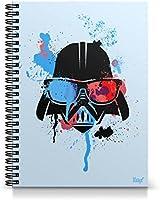 Caderno Universitário Capa Dura Geek Side Darth Vader