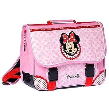 Minnie y sus amigas-Cartera, diseño de Minnie Mouse, color rosa, 38 cm de alta gama: Amazon.es: Juguetes y juegos