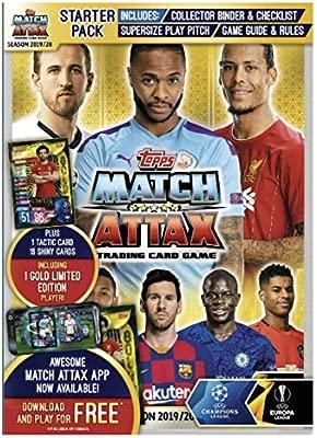 Match Attax 2019//20 starter pack collector Binder SUPER SQUAD Pack 19//20