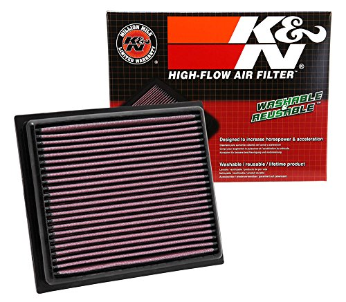 K&N 33-2435 High Performance Replacement Air Filter
