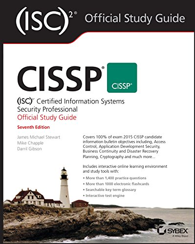 CISSP (ISC)2 Certified Information Systems Security Professional Official Study Guide (Best Cissp Study Guide)