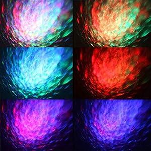 51eCo92cd9L. SS300  - Karrong-Disco-Licht-Partylicht-LED-Discolicht-Musik-Lichteffekte-Partybeleuchtung-mit-Fernbedienung-7-Farben-RGB-Ozean-Wellen-Dj-Licht-fr-Halloween-Xmas-Party-Kinder-Geburtstag-Karaoke-Dekoration