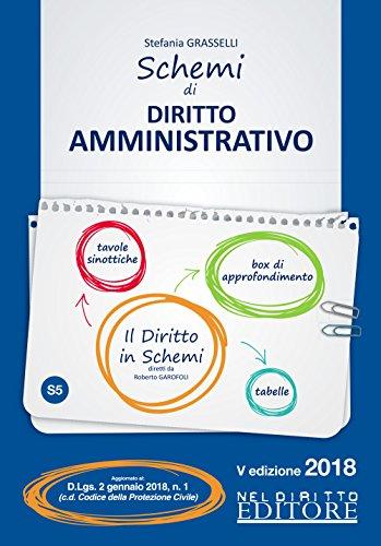 Schemi di diritto amministrativo (Il diritto in schemi) por Stefania Grasselli
