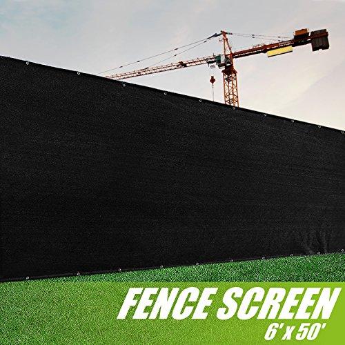 6 feet fence - 6