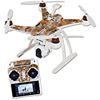 Skin For Blade Chroma Quadcopter – Pheasant Feathers | MightySkins Protective, Durable, and Unique Vinyl Decal wrap cover | Easy To Apply, Remove, and Change Styles | Made in the USA