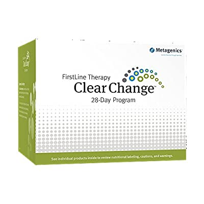 Metagenics First Line Therapy Clear Change 10-Day Program Natural Vanilla