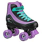 FireStar Youth Girl's Roller Skate (Purple/Black/Mint, 1)