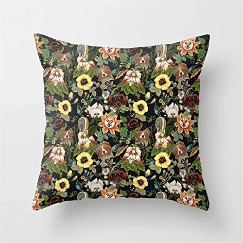 Amazon.com: Isabel Saenz 2019 Lovely Style Polyester Pillow ...