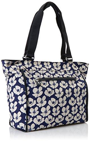 Kipling Damen New Shopper S Tote, 42x27x0.1 cm Mehrfarbig (Bold Flower)