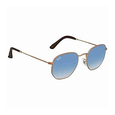 Amazon.com: anteojos de sol Ray-Ban Rb 3548 N 90353 °F cobre ...