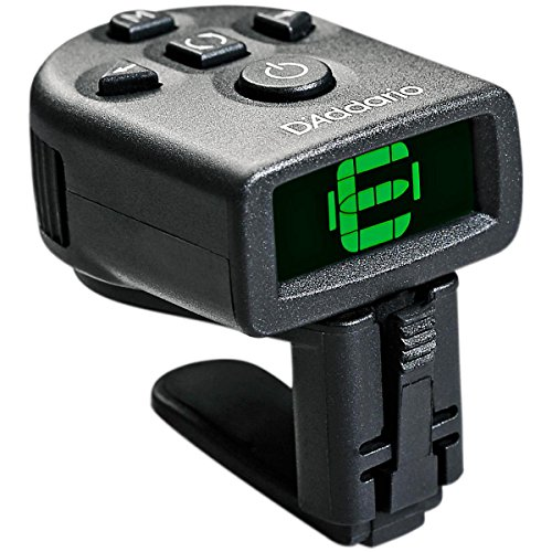 D'Addario NS Micro Clip-On Tuner Bass Electric Guitar Tuner