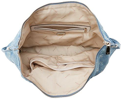 5x33x41 12 Hobo portés H Guess Denim L Bags W main x Sacs Blue cm Bleu femme z4vwwA