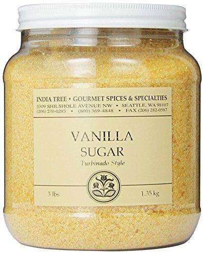 Flavored Cane - India Tree Vanilla Sugar, 3 lb