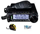 Bundle - 3 Items - Includes Yaesu FT-891 HF/6M Mobile Radio with the New Radiowavz Antenna Tape (2m - 30m) and HAM Guides Quick Reference Card