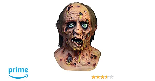 Diseased Mask Zombie Distortions Fancy Dress Halloween Adult Costume Accessory