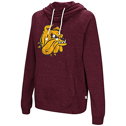 Colosseum Womens Minnesota Duluth Bulldogs Pull-Over Hoodie - S (Duluth Bulldogs Jersey)