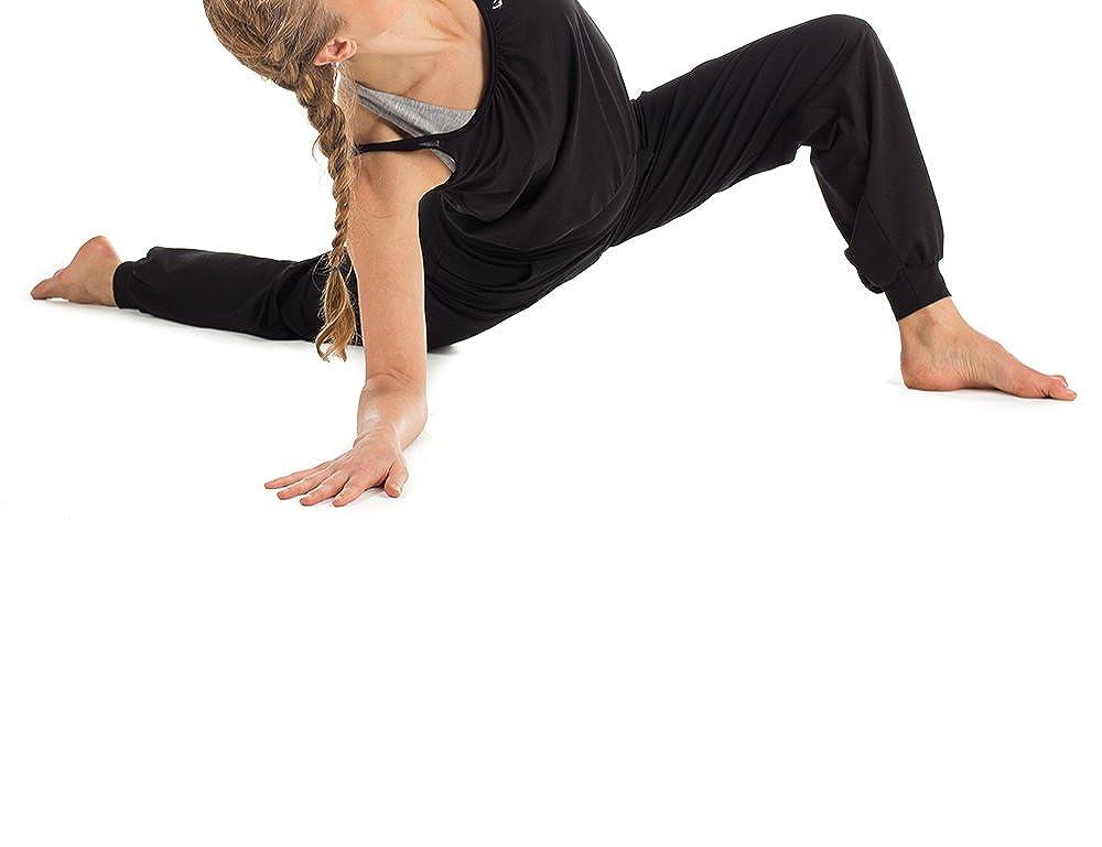 Winshape Damen Jumpsuit WJS1 Fitness Freizeit Sport Yoga Pilates L schwarz
