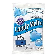 Wilton 2201-4084 Candy Melts, 12-Ounce, Royal Blue