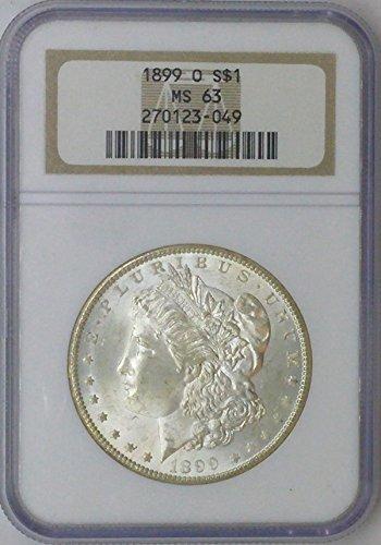 1899 O Morgan $1 MS64 NGC MS