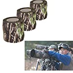 Tissu Camouflage Tape Wrap Camouflage Adhésif pour Pistolets Décor de Bande de Protection Tactique Bande de Camouflage… 8