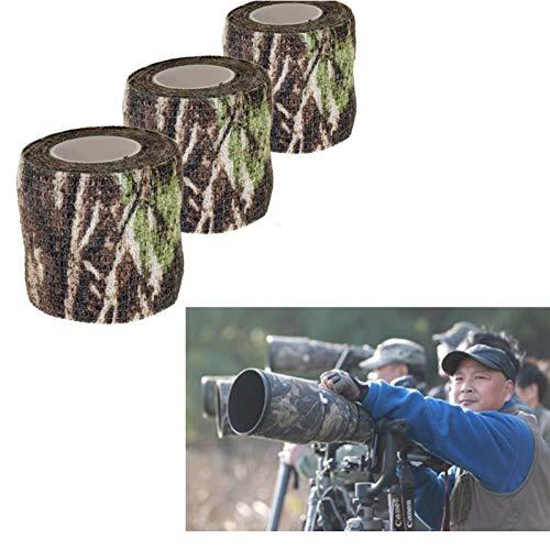 Tissu Camouflage Tape Wrap Camouflage Adhésif pour Pistolets Décor de Bande de Protection Tactique Bande de Camouflage… 3
