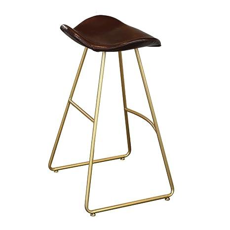 Amazon.com: Taburete de estilo industrial, silla vintage con ...