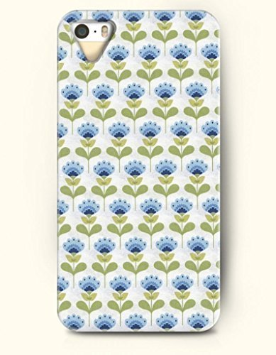 SevenArc Phone Cover Apple iPhone case for iPhone 4 4s -- Blue Flowers