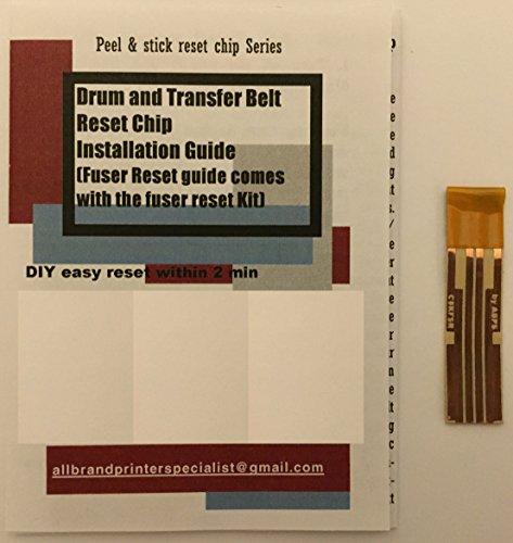 Super Easy Drum Reset Solution for OKI OKDATA C710, MPS710, MPS710C (1x Fuser Reset Chip)
