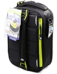 Arctic Zone High Performance ColdLok Expandable Lunch Pack Black