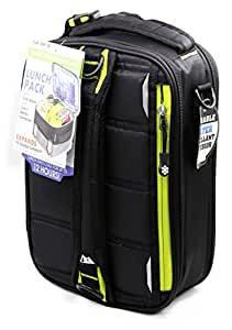 Arctic Zone High Performance ColdLok Expandable Lunch Pack, Black