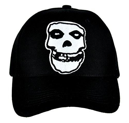 (Horror Punk Rock Misfits Skull Hat Baseball Cap Goth Clothing Psychobilly Danzig)