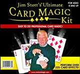 Jim Stott's 'Ultimate Card Magic Kit, Magic Tricks Set for Adults, Svengali Card Deck, Phantom Marked Deck, The Wizard Stripper Deck, Vanishing Card Case, The Magic Card Box, and More