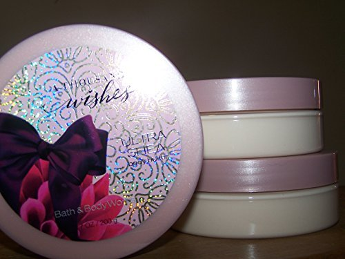 (Lot of 3 Bath & Body Works A Thousand Wishes Ultra Shea Body Butter 7 oz/ 200 g (Thousand Wishes))